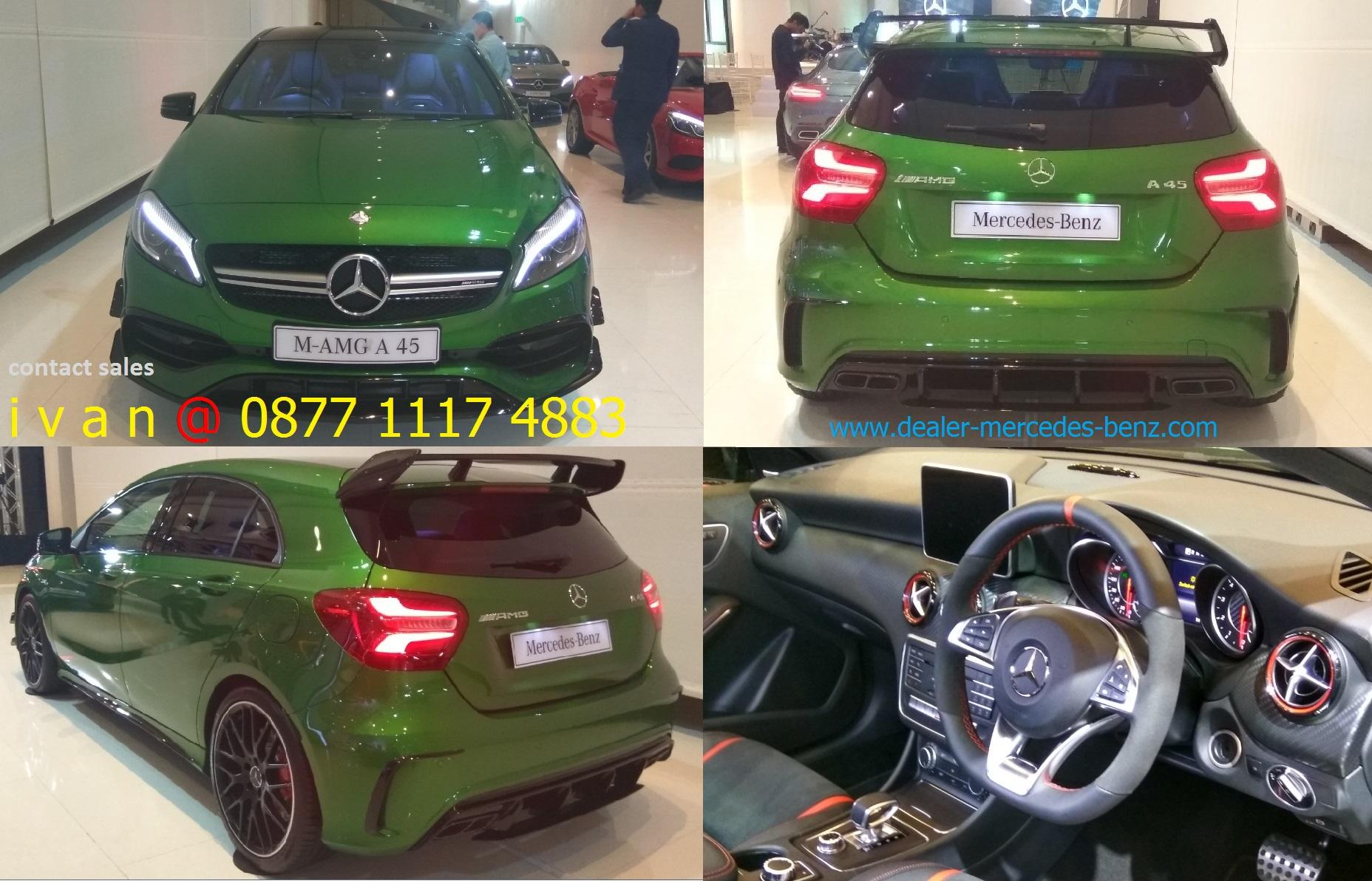 Mercedes Benz A45 Amg Indonesia 2017 Green Dealer