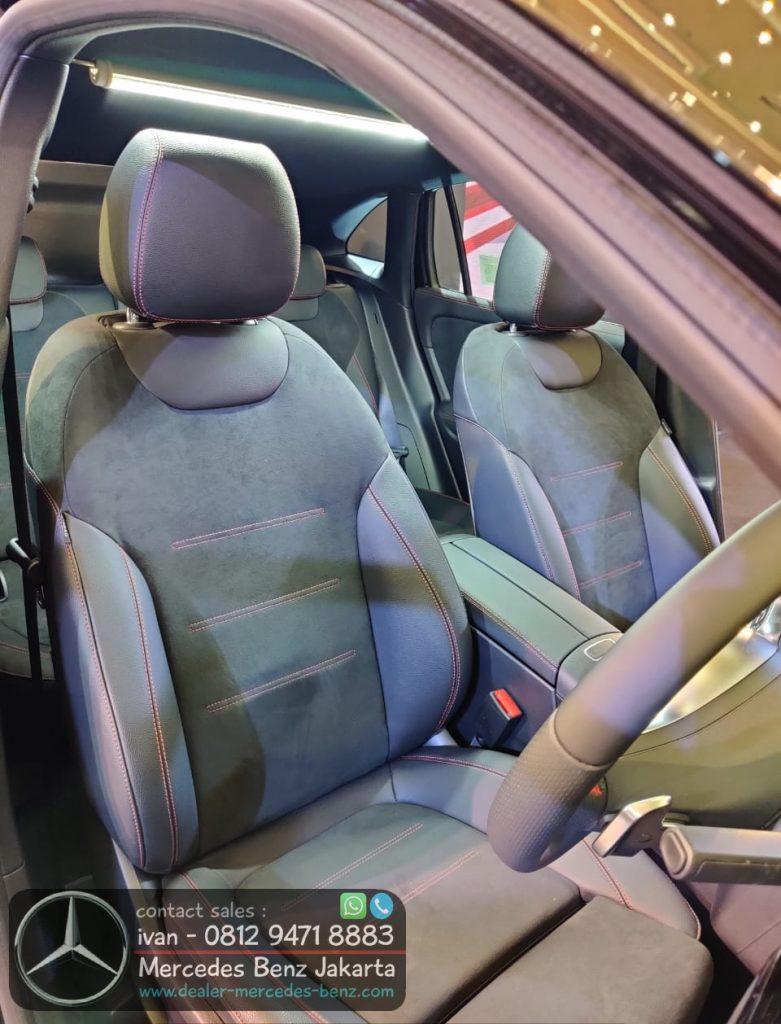 Interior GLA 200 AMG CKD 2021 Inonesia Black