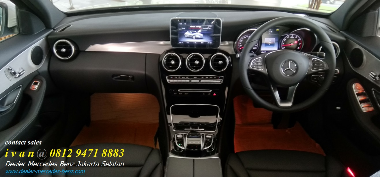 Interior Mercedes Benz C200 Amg 2017 Indonesia Dealer