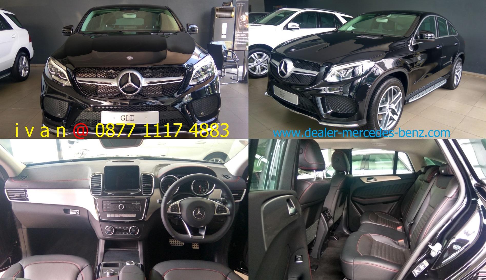 gle400 coupe amg line 2017 indonesia black