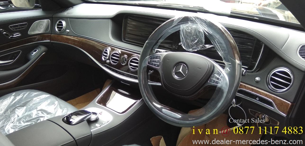 Interior Mercedes Benz S Cl S400 L Exclusive 2017 Indonesia