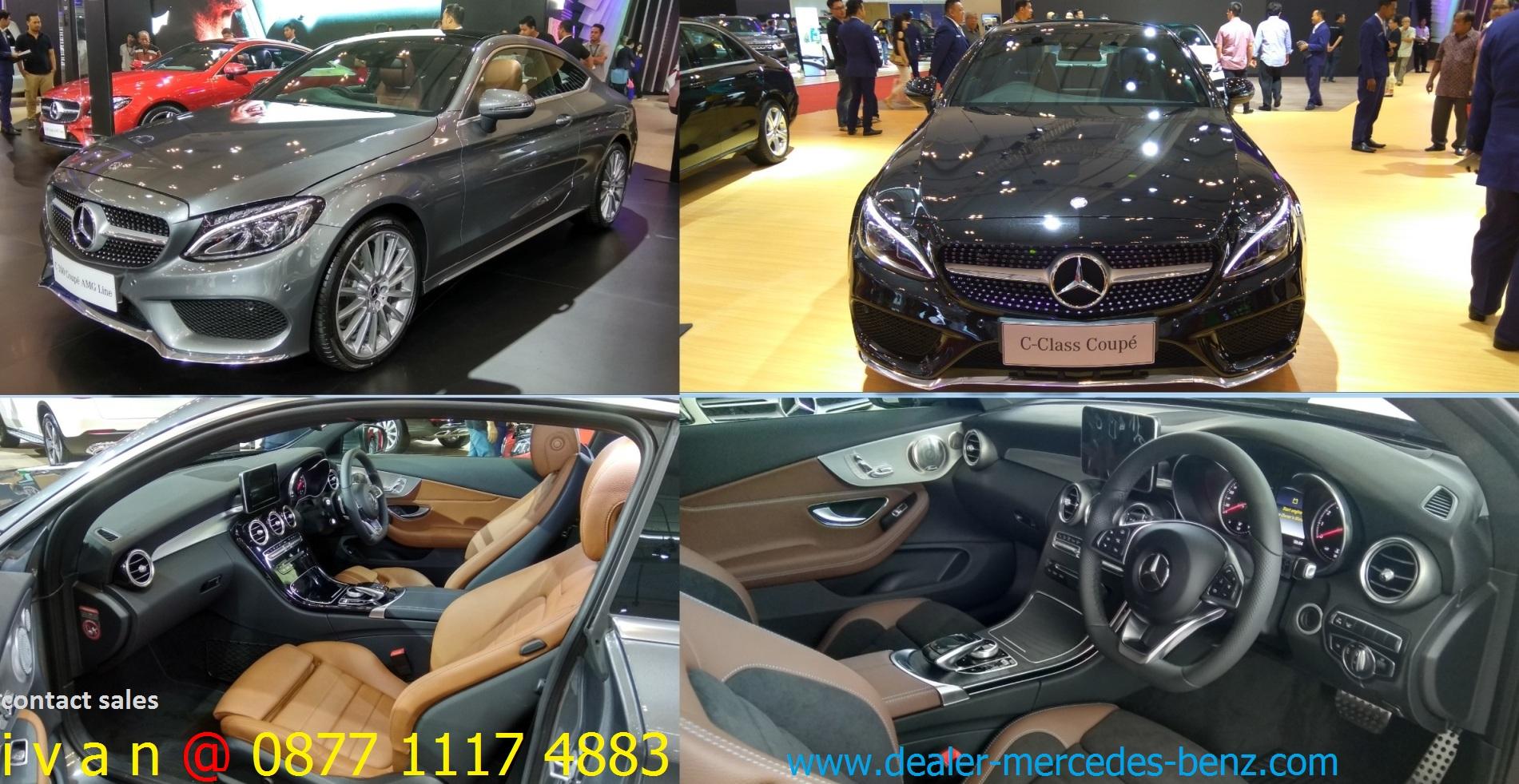 Mercedes Benz C Coupe 2018 Indonesia Dealer Mercedes