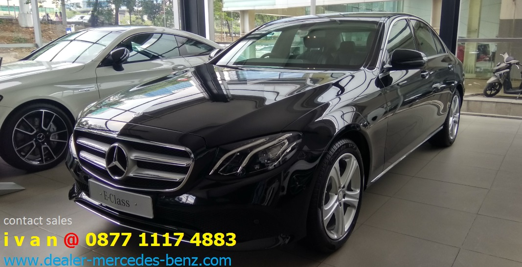 Mercedes benz e250 avantgarde 2017 indonesia black 1 for Mercedes benz dealer in miami