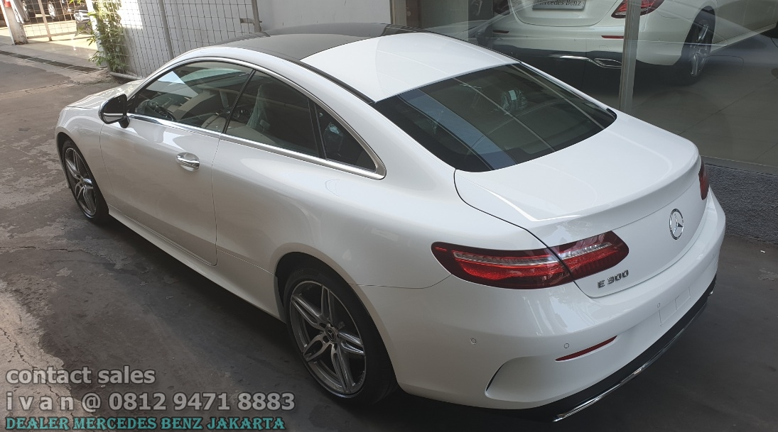 E300 Coupe Amg Line 2019 Indonesia White