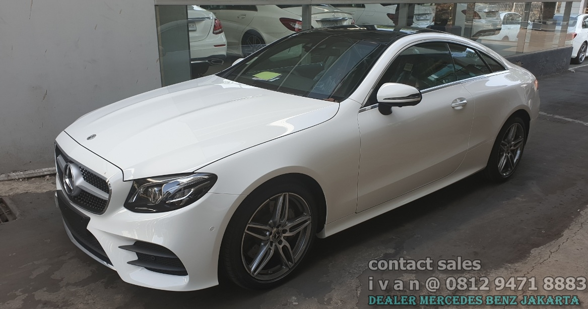 Mercedes Benz E300 Coupe Amg 2019-2020 Indonesia White