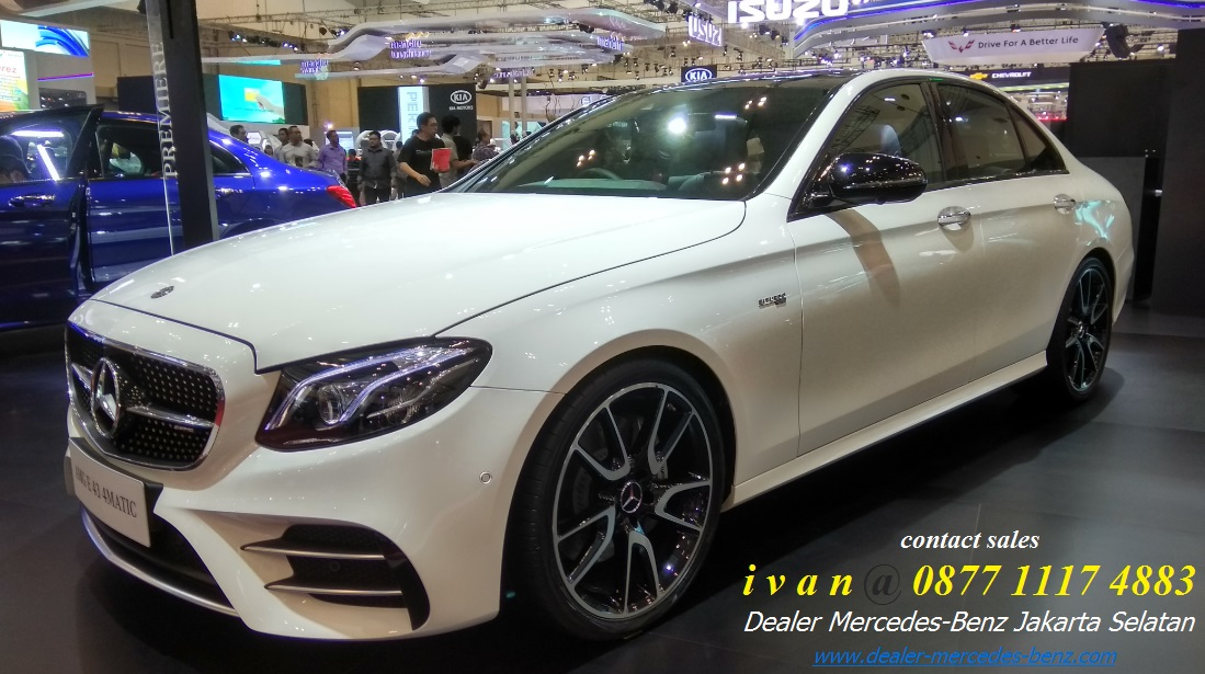 Mercedes Benz E43 Amg Indonesia 2017 White Dealer