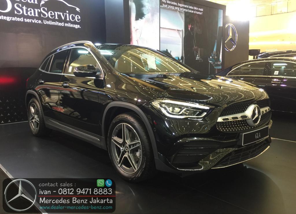 New GLA 200 AMG CKD 2021 Indonesia Black