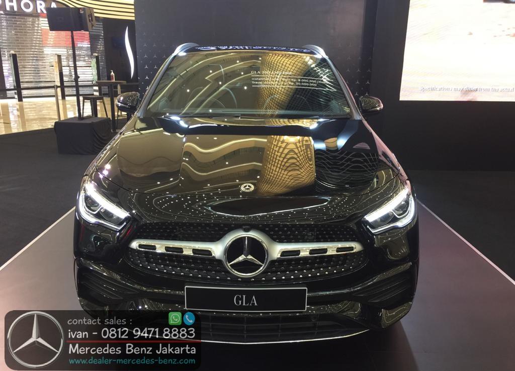 The New GLA 200 AMG CKD 2021 Indonesia Black