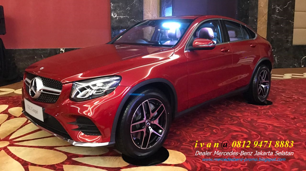 Mercedes benz glc 300 amg coupe 2017 indonesia dealer for Mercedes benz glc 300 coupe