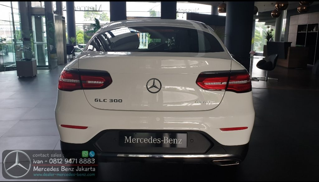 GLC300 Coupe FL Facelift 2020 Indonesia White