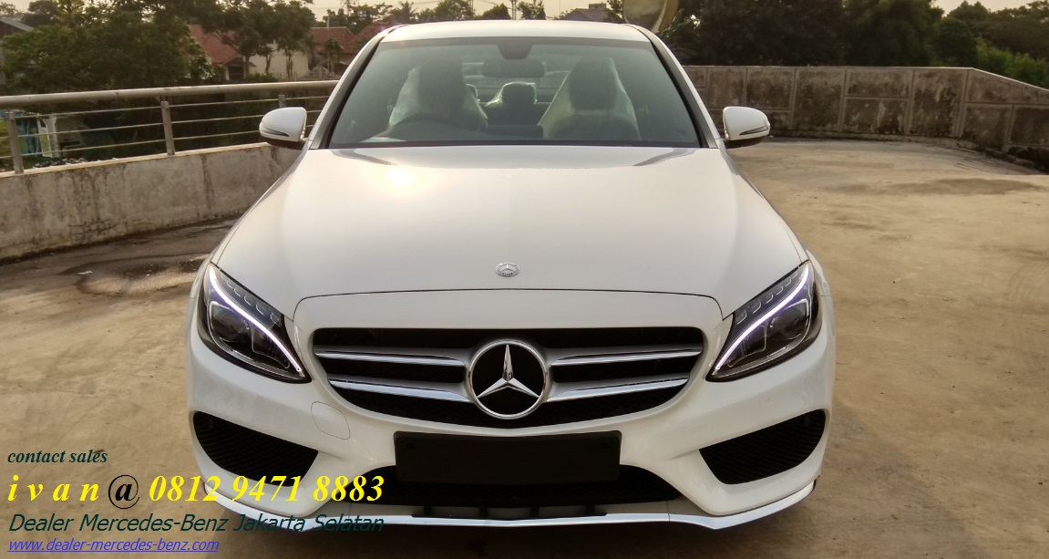 New mercedes benz c200 amg 2017 indonesia dealer for Mercedes benz c200 2017
