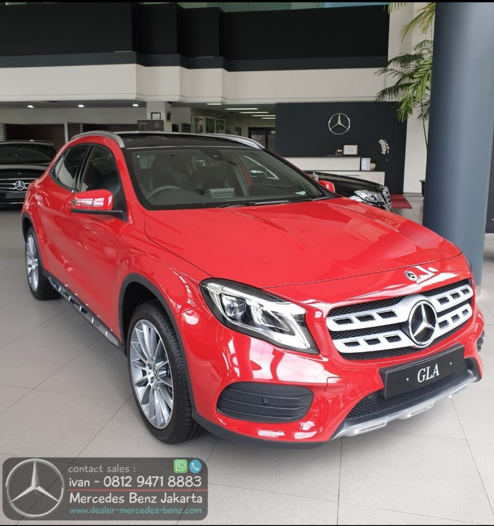Mercedes Benz GLA 200 Amg Final Edition 2019-2020 Indonesia