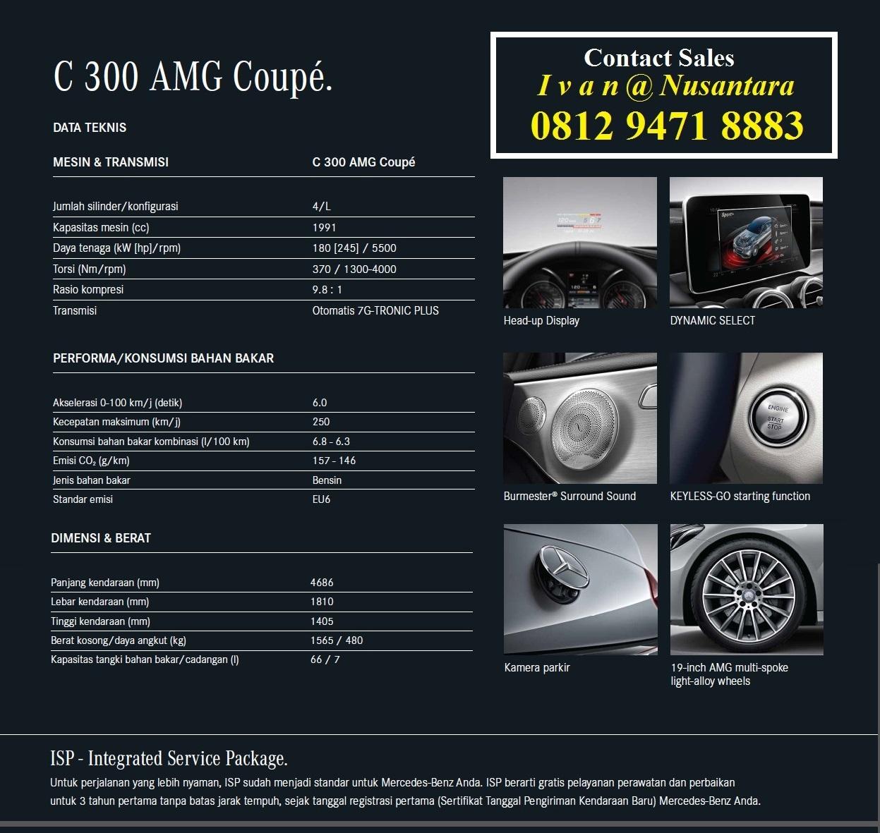 Brosur C300 Amg Coupe