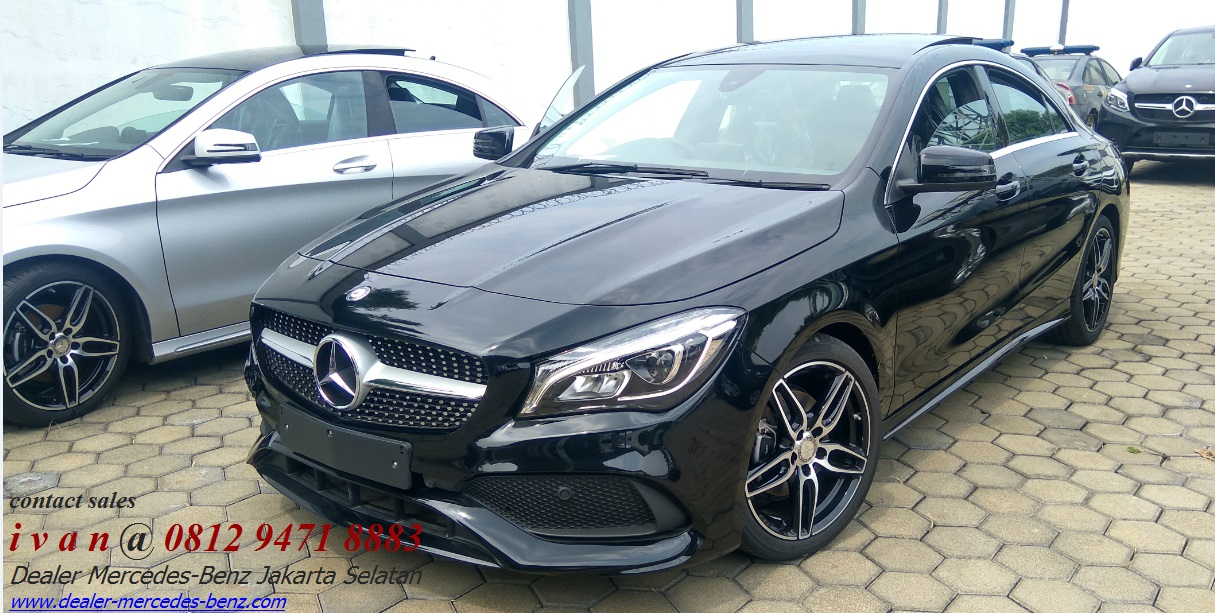 Mercedes Amg Coupe 2017 >> mercedes benz cla 200 Amg fl 2017 indonesia black | Dealer Mercedes Benz Jakarta