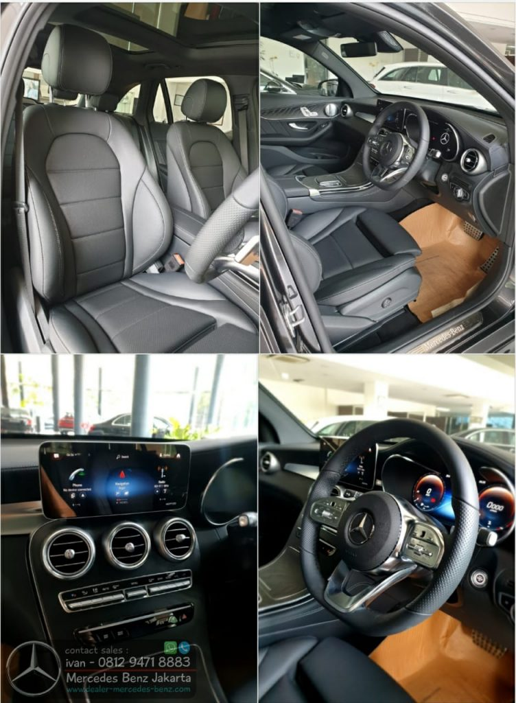 Interior Mercedes Benz GLC-Class GLC 200 Amg Line 2020 Indonesia Black