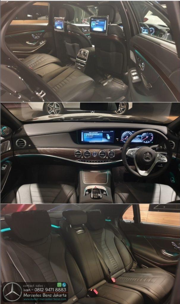 Interior S450 L 2019-2020 Indonesia Black