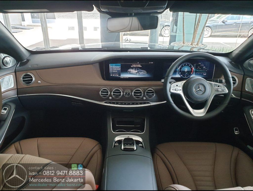 Interior Mercedes S-Class S450 L 2019-2020 Indonesia