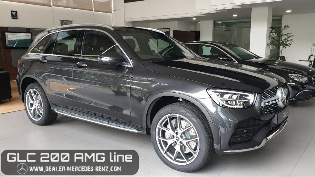 Mercedes Benz GLC-Class GLC 200 Amg Line 2020 Indonesia Grey