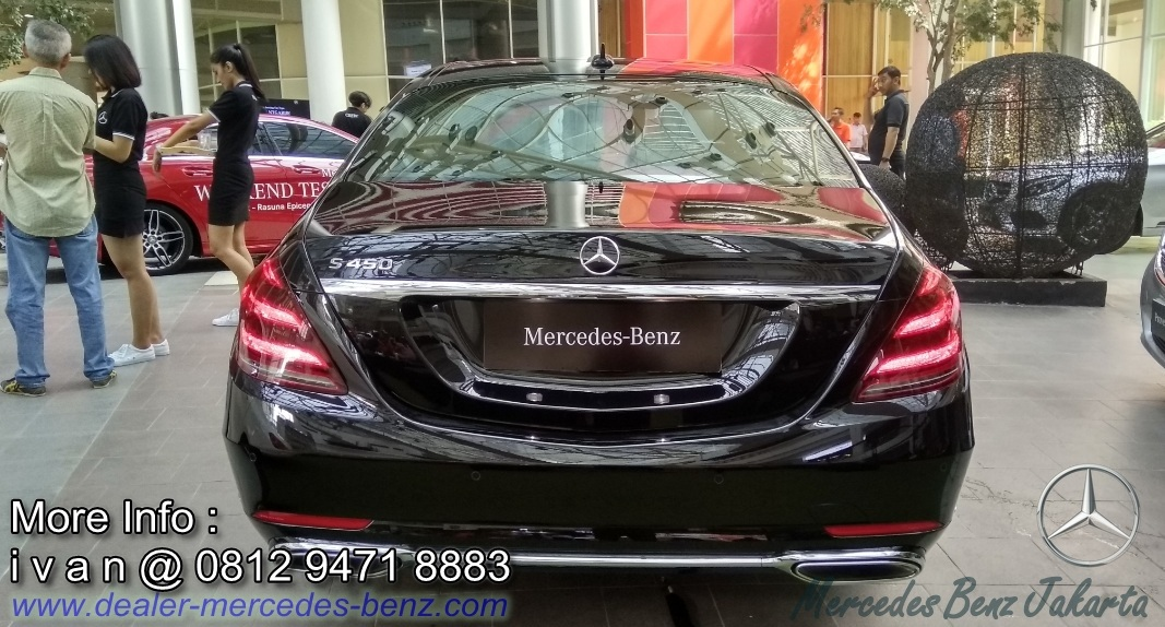 Mercedes-Benz S-Class 2018 Indonesia
