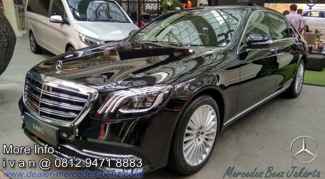 S450 L 2018 Indonesia Black