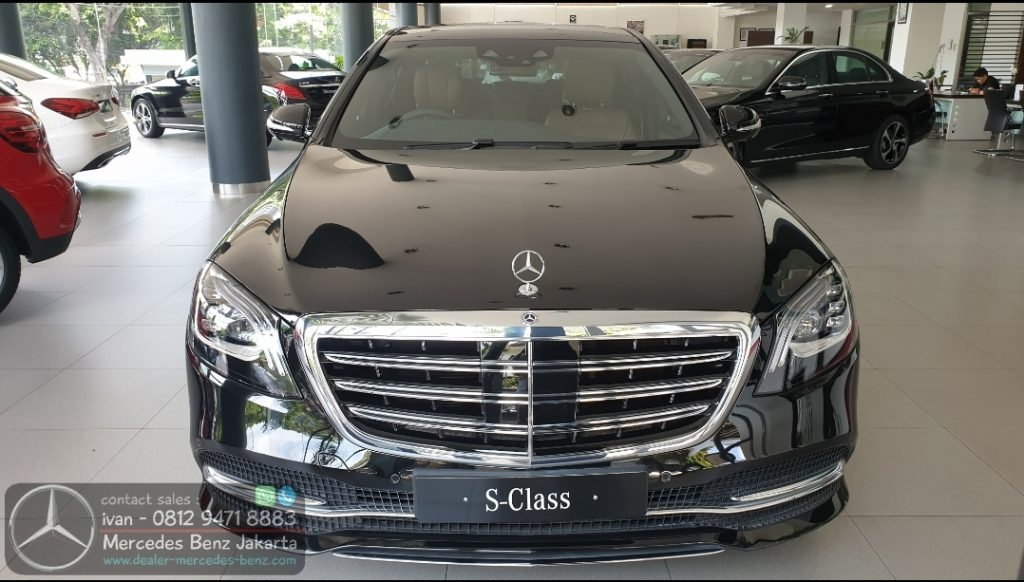 New S-Class S450 L 2019-2020 Indonesia