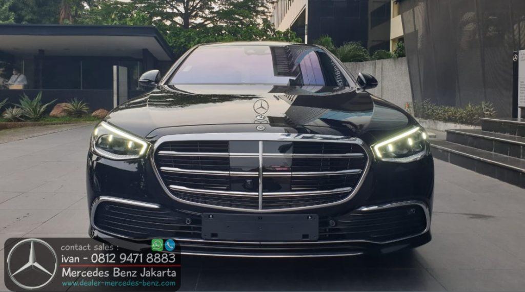 Mercedes S-Class W223 S450 L Indonesia 2021 Black