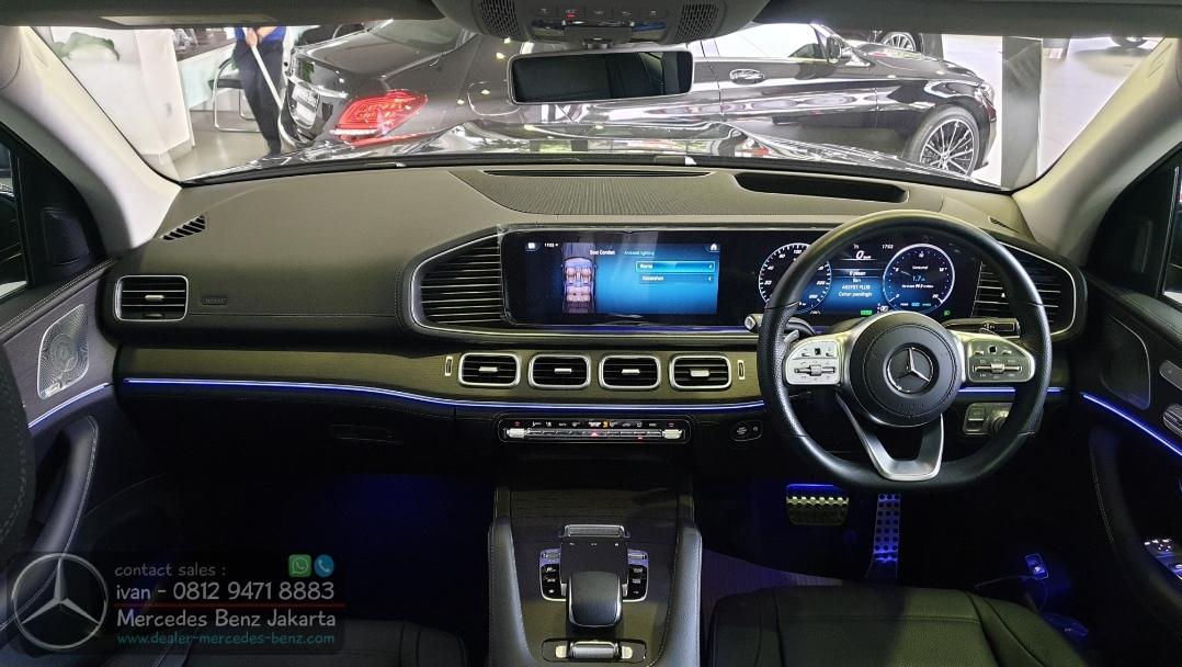 Interior GLS45o AMG Line 2021 Indonesia Black