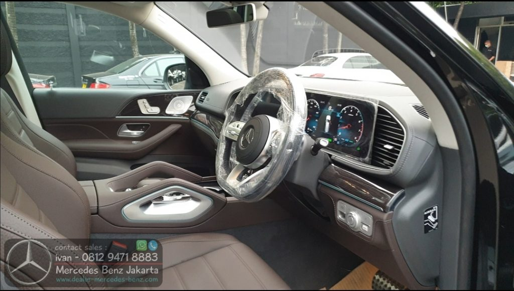 Interior GLS450 Amg 2020 Indonesia Brown
