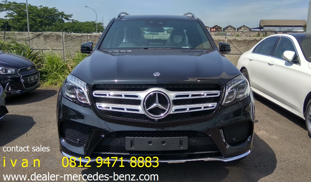 GLS 400 AMG Line 2017 Indonesia