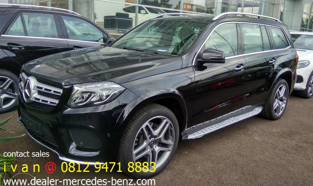 GLS400 Amg Line 2017 Indonesia Black