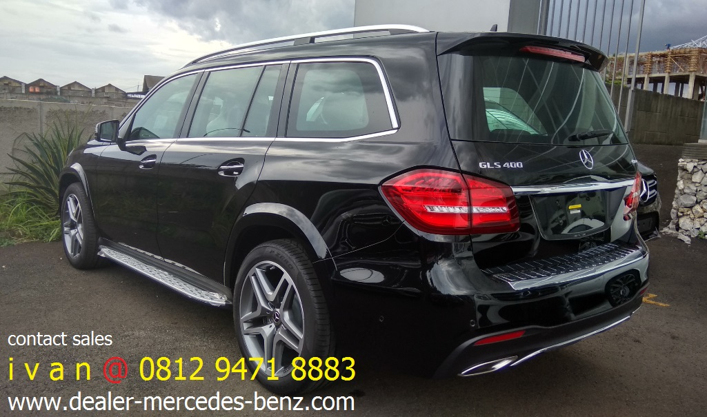 GLS 400 AMG Line 2017 Indonesia Black