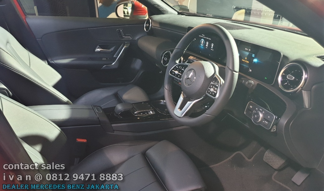 Interior A-Class A200 Progressive 2018 Indonesia