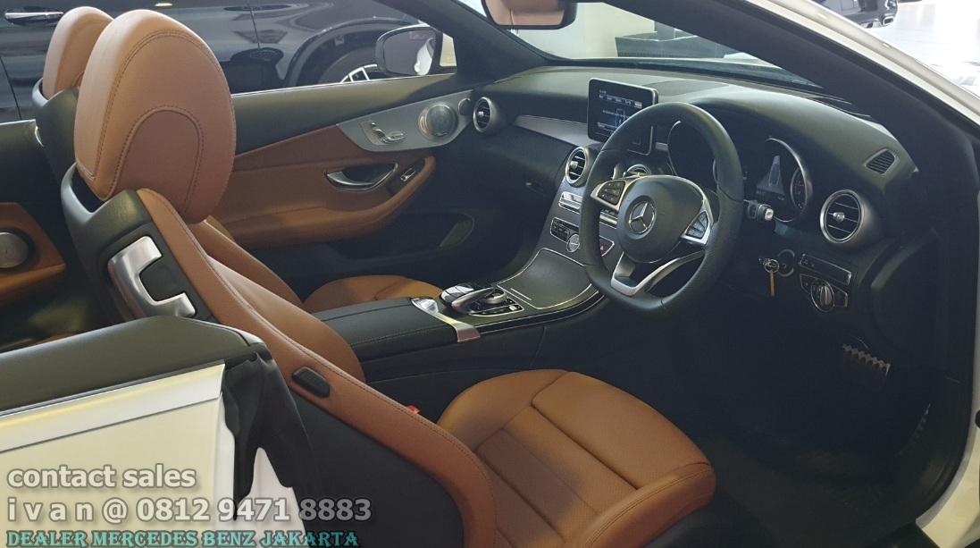 Interior Mercedes C-Class Cabriolet 2018 Indonesia