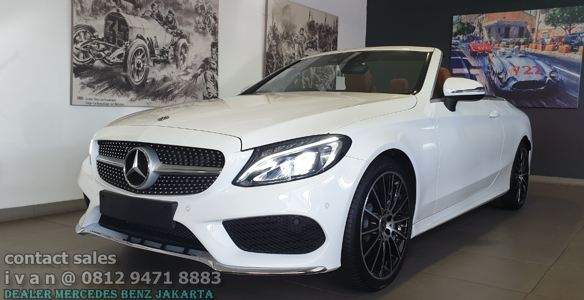 Mercedes-Benz C-Class C300 Cabriolet Amg 2018 Indonesia