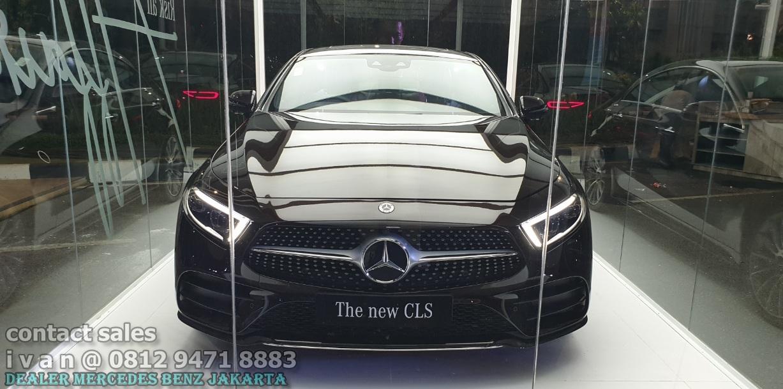 Mercedes Benz CLS 350 Amg 2019-2020 Indonesia Black