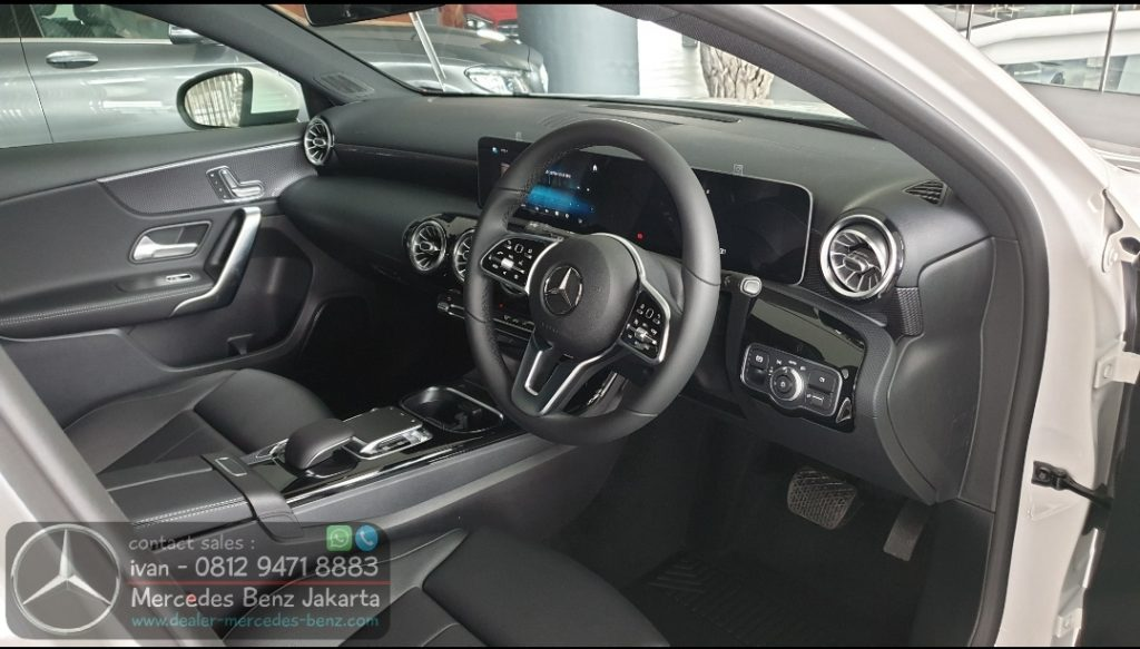 Interior A200 Hatchback 2019-2020 Indonesia