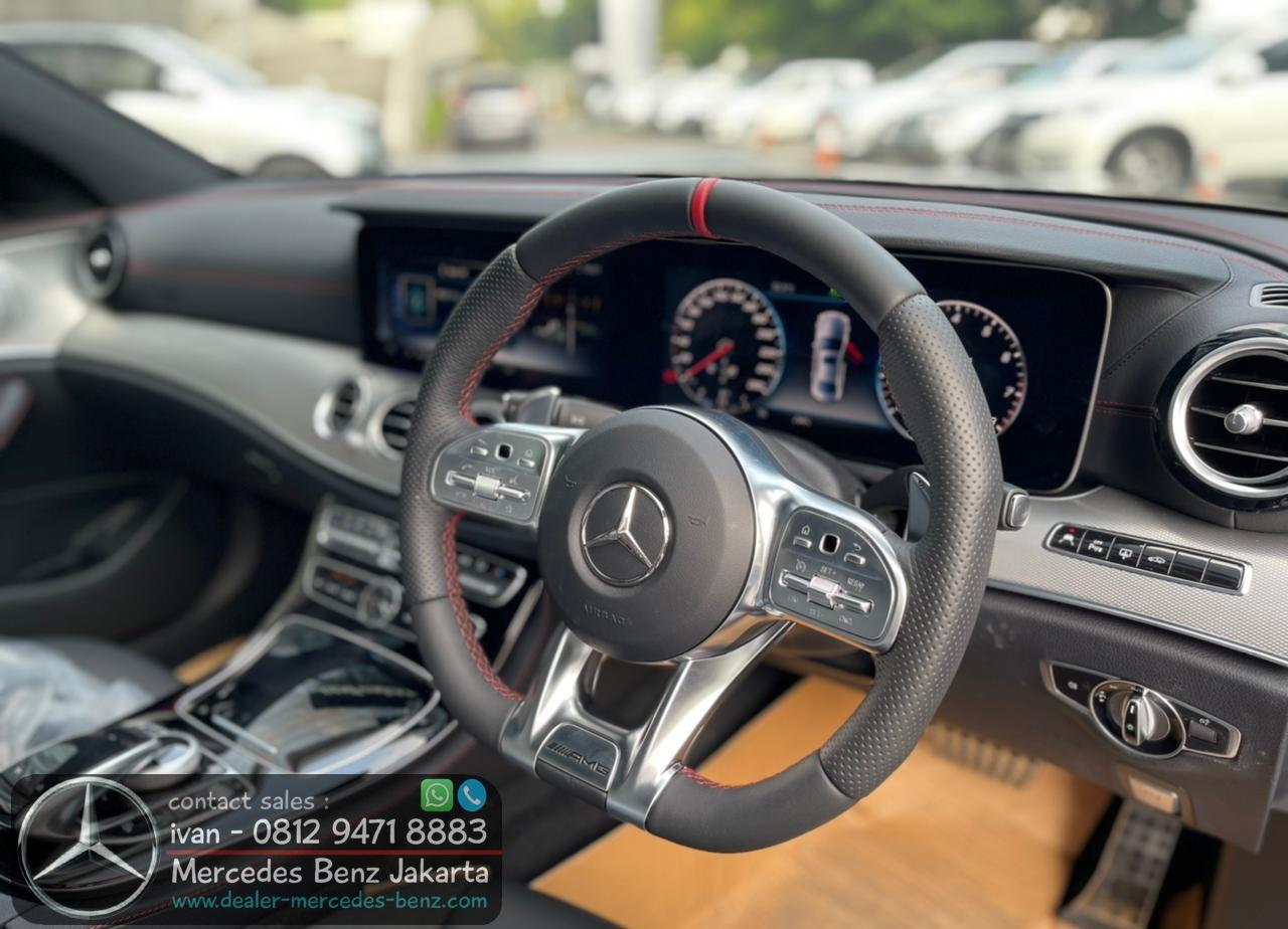 Interior E53 AMG 2020 Indonesia Black