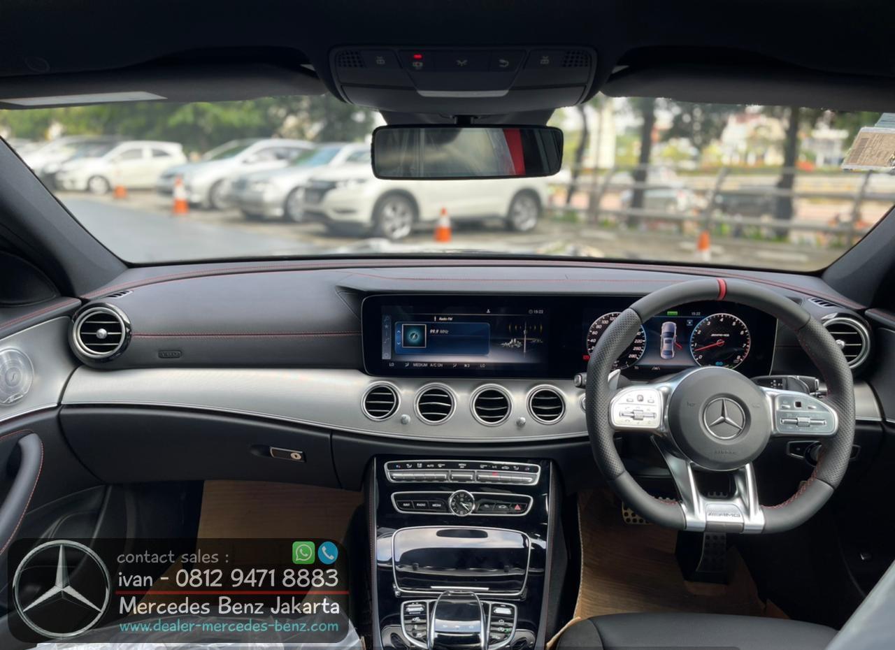 Interior Mercedes Benz E53 AMG 2021 Indonesia