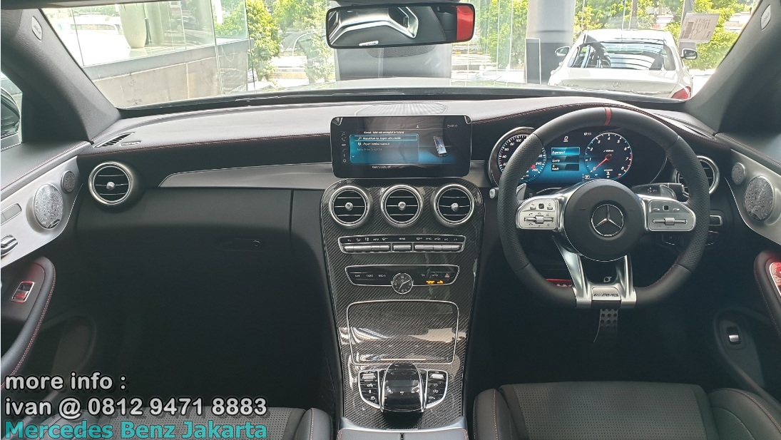 Interior Mercedes-Benz C43 Coupe Facelift 2019 Indonesia