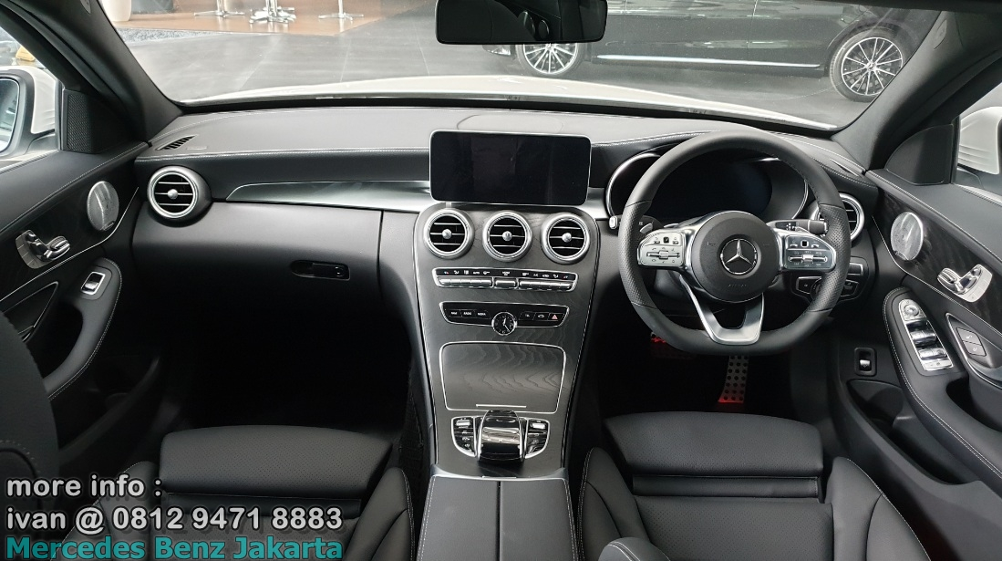Interior C300 Amg 2019 Indonesia