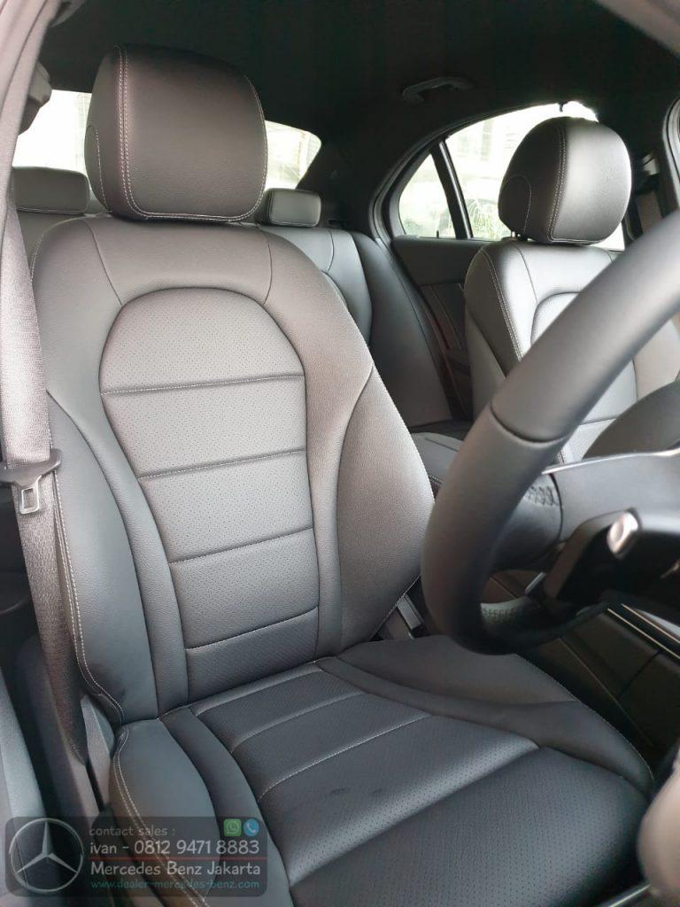 Interior Mercedes benz C200 AMG 2021 Indonesia Black1