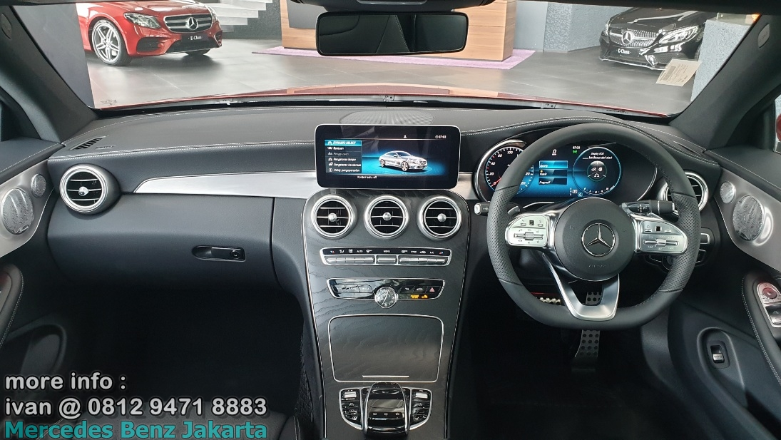 Interior Mercedes C300 Coupe Amg 2019 Indonesia
