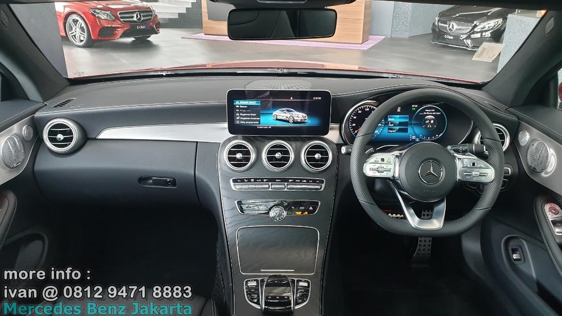 Interior Mercedes C300 Coupe Amg 2019 Indonesia
