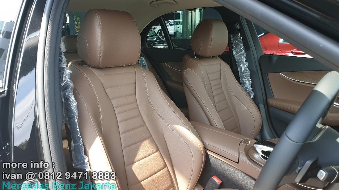 Mercedes E250 Avantgarde 2019 Interior Brown