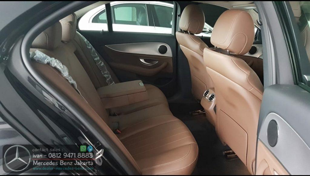 Interior Mercedes E200 Avantgarde 2020 Indonesia Brown