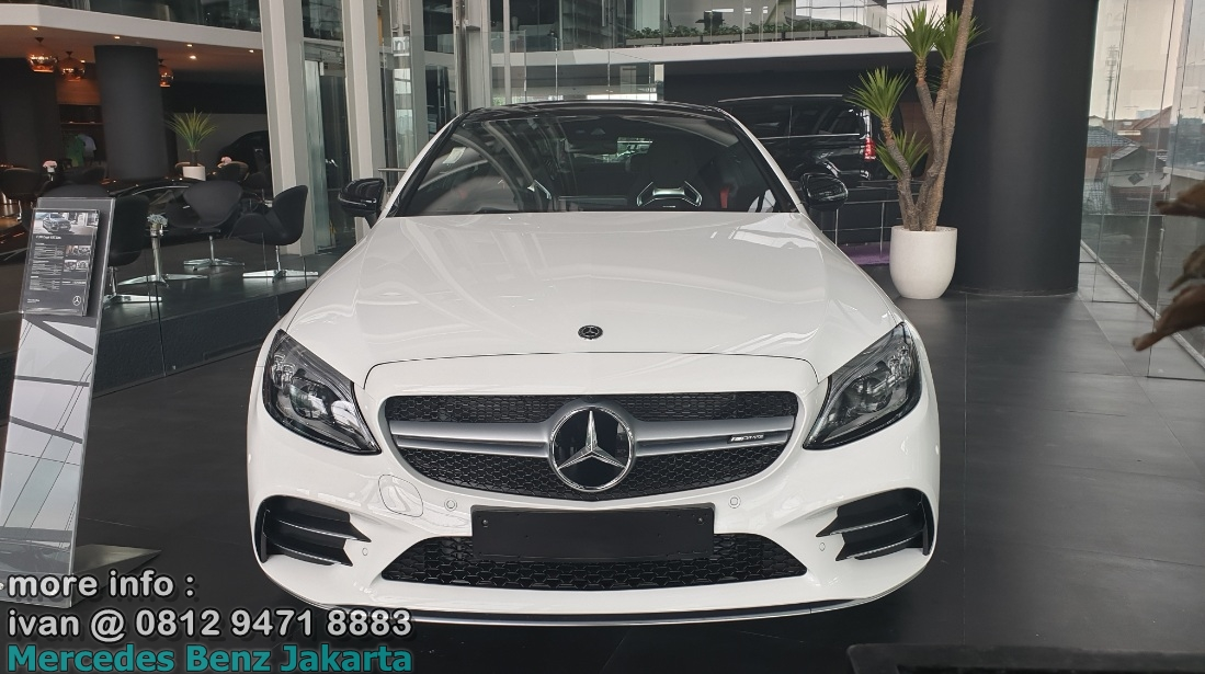 Mercedes-Amg C43 Coupe Facelift 2019 Indonesia White