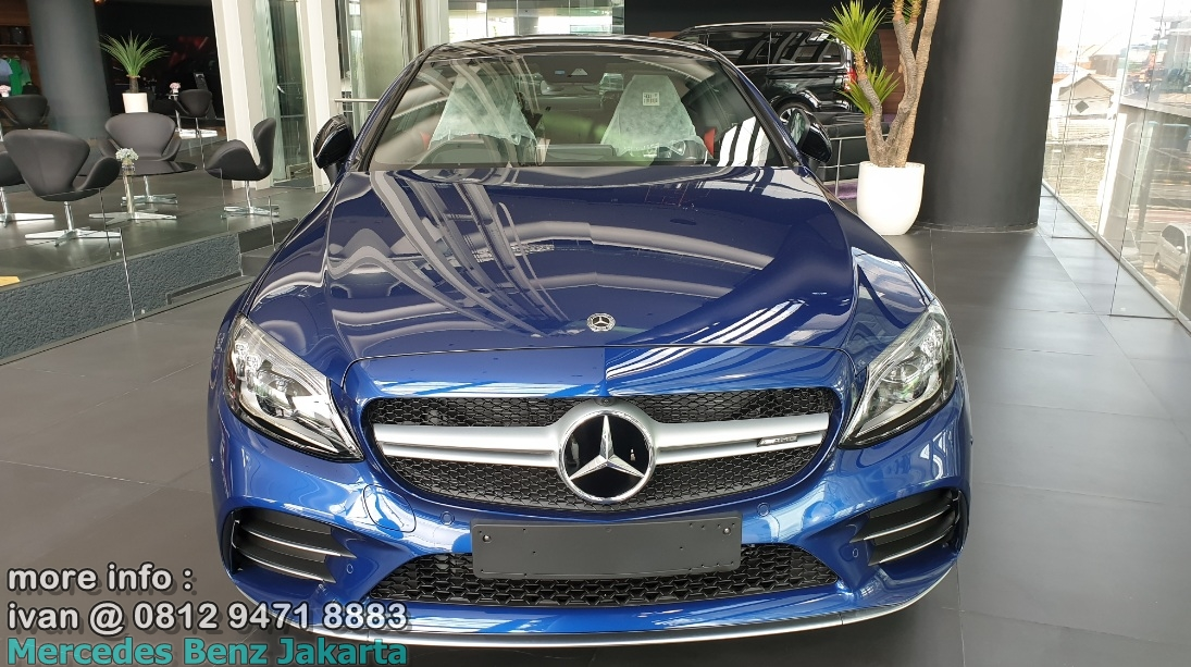 C43 Coupe facelift 2019 Indonesia Biru
