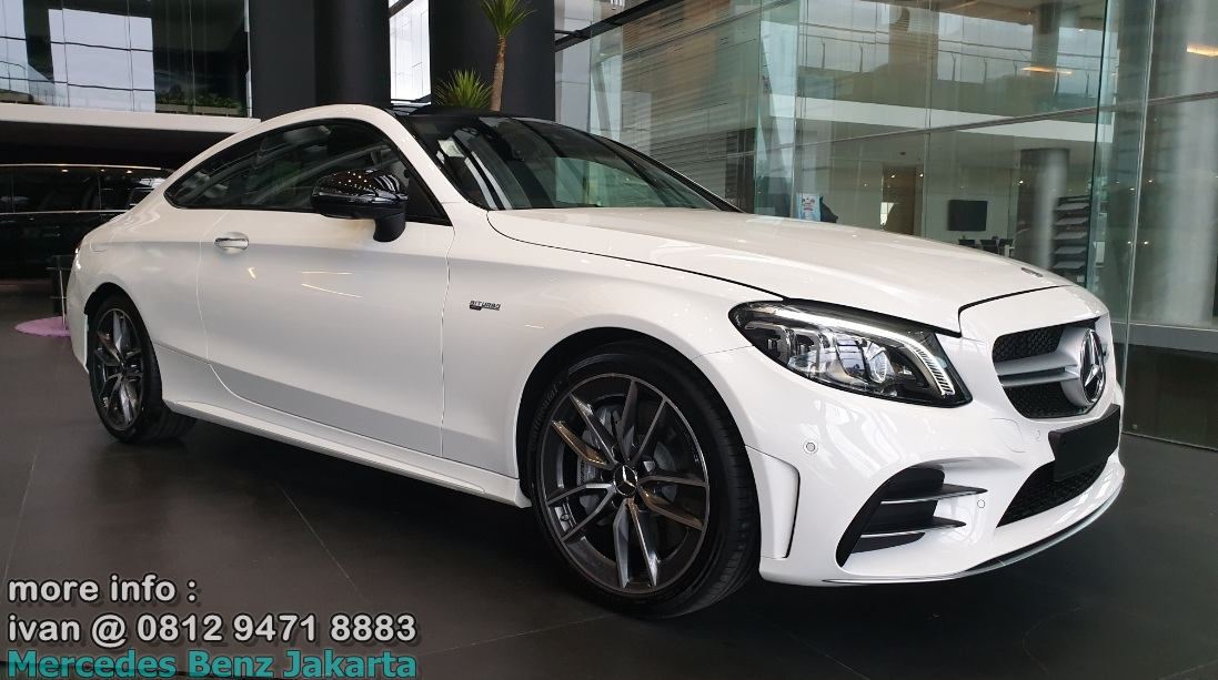 C43 Coupe Amg 2019 Indonesia White
