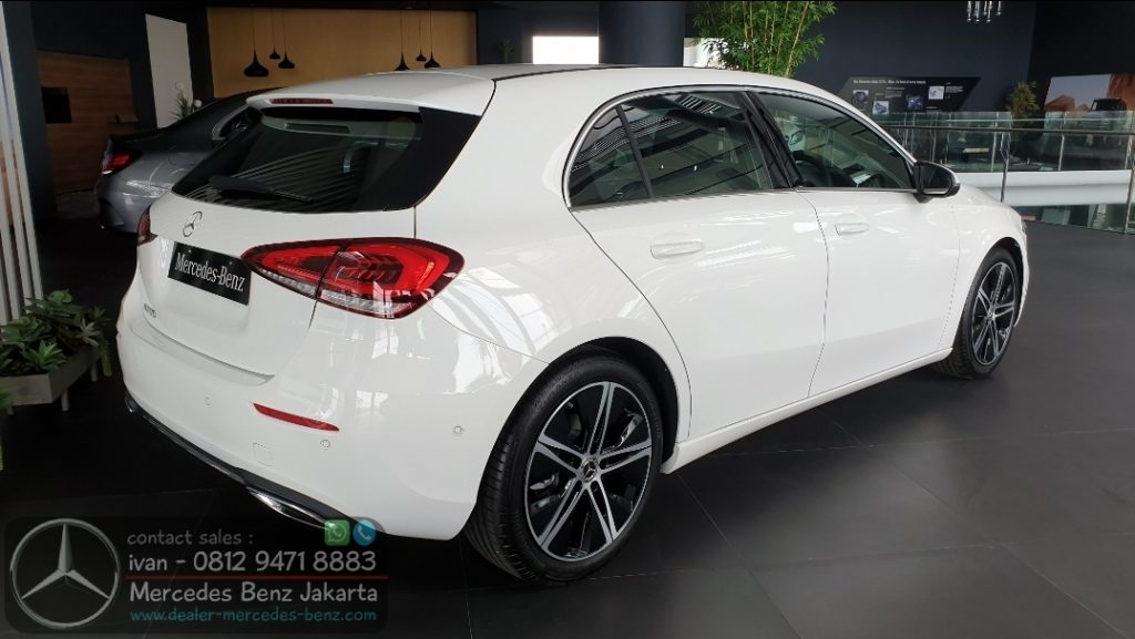 A200 Hatchback 2020 Indonesia White