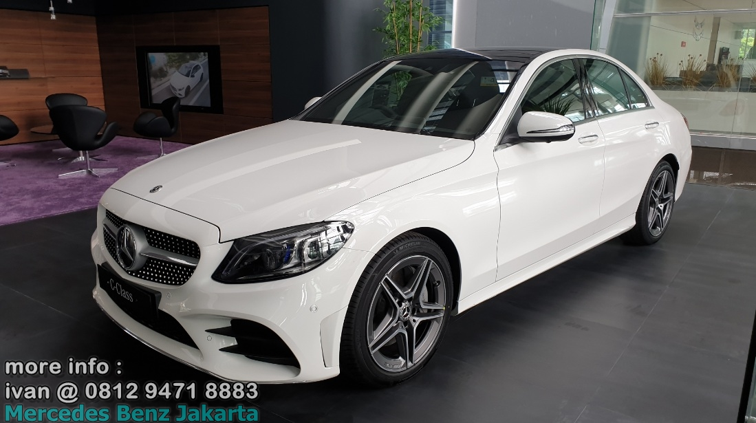 C300 Amg Facelift 2019 Indonesia Putih